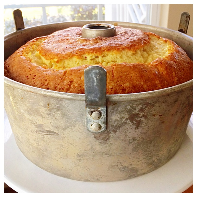 Pound Cake in Bundt Pan