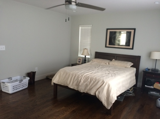 Grey Bedroom Before