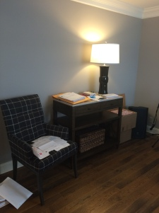 Home Office Wall...Before