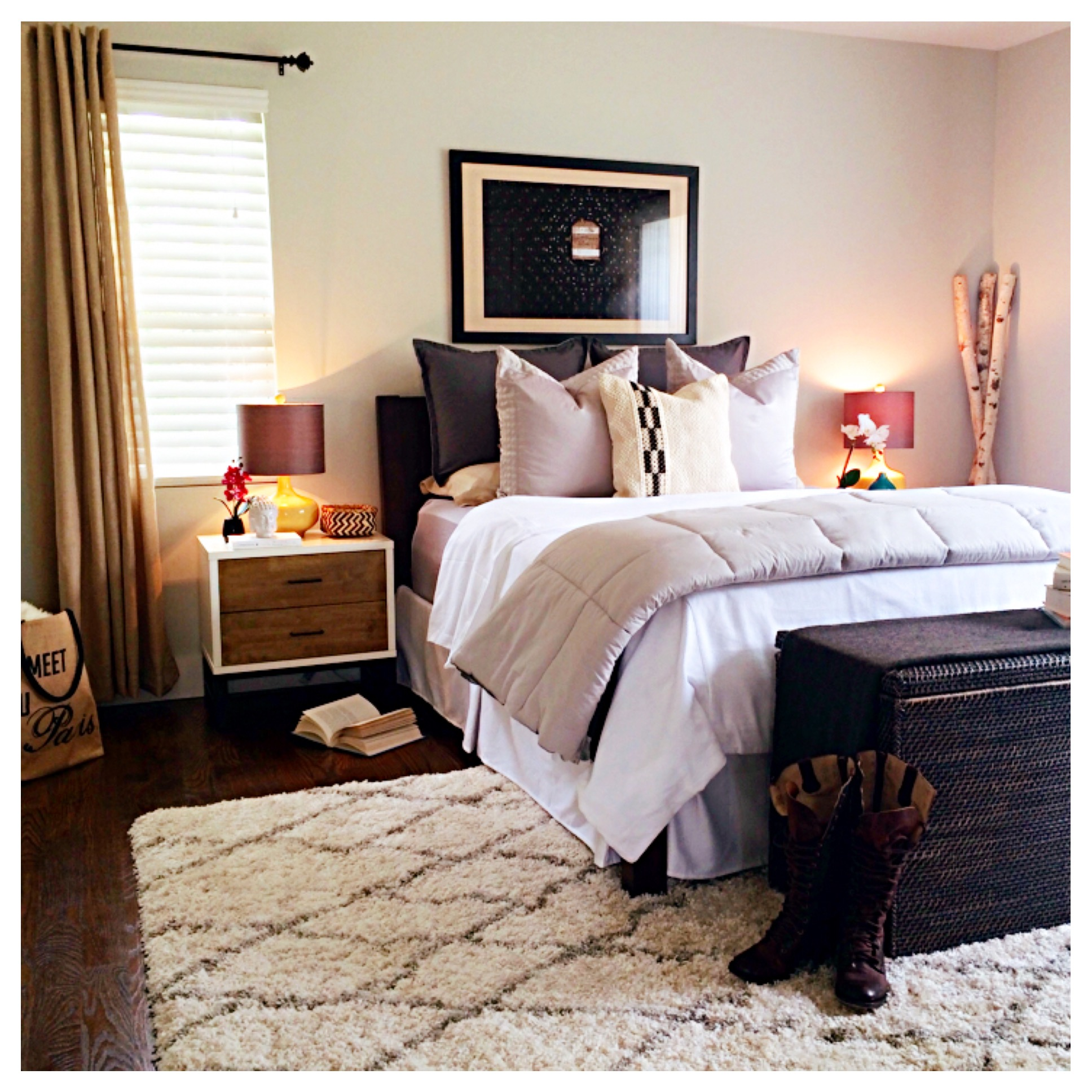 Organic Master Bedroom Suite