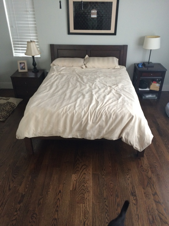 Stripped Down Bedroom