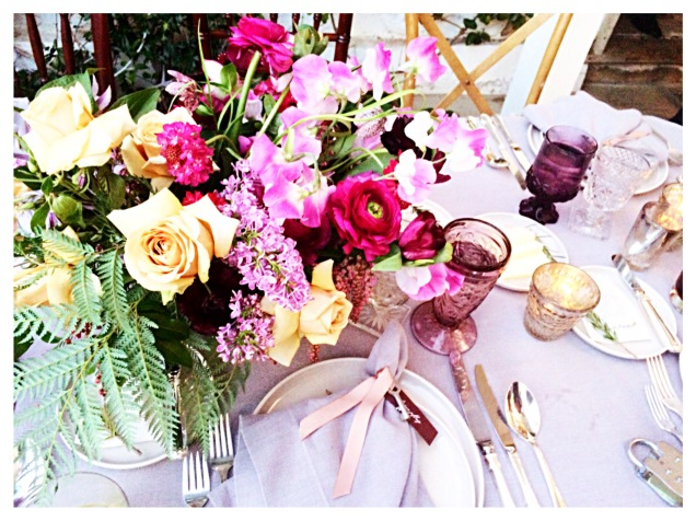 Stunning Bridal Tablescape