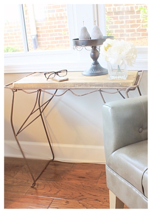 Repurposed Console Table