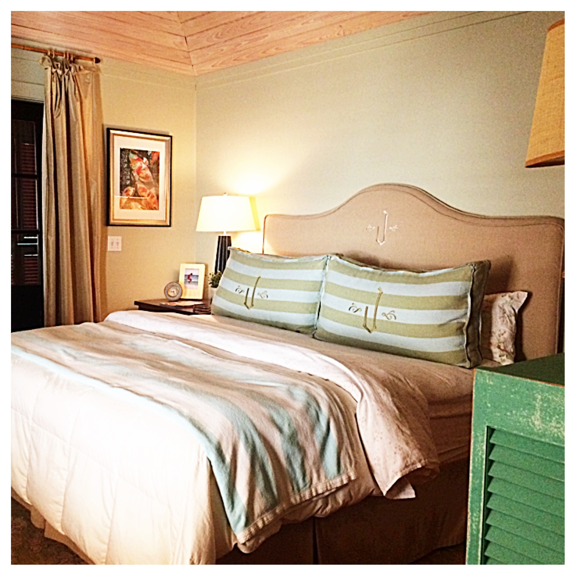 Bedroom at Rosemary Beach