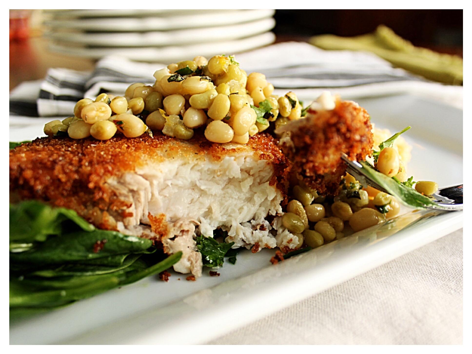 swordfish-with-lady-pea-relish
