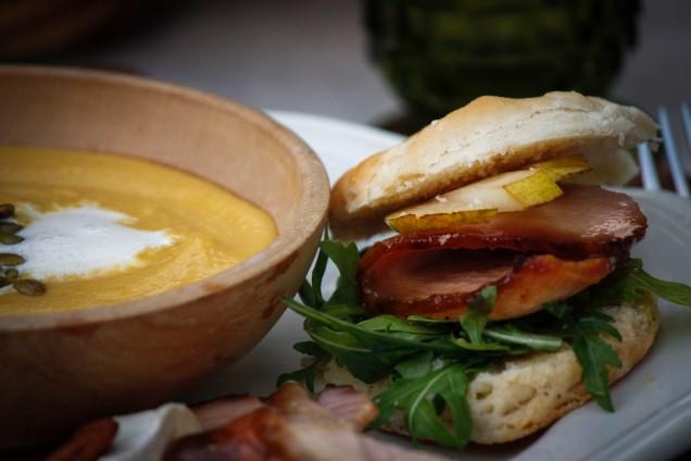 beautiful-soup-and-sandwich-plate