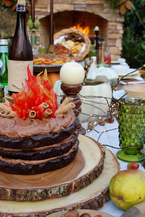 fireside-brownie-cake