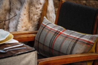 Plaid Lumbar Pillows by The Collected Nest