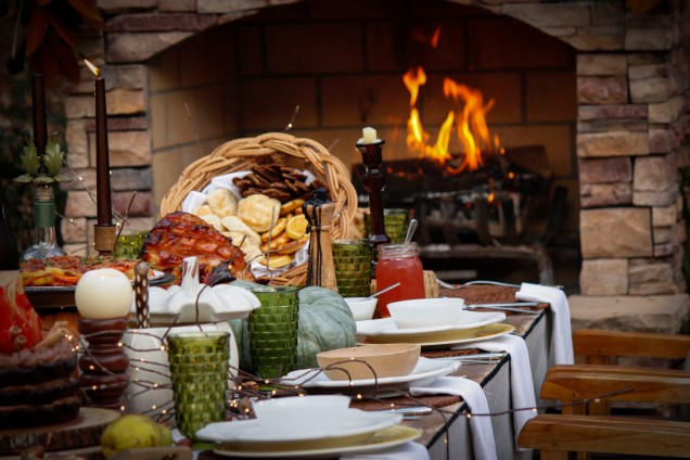 tablescape-with-fire