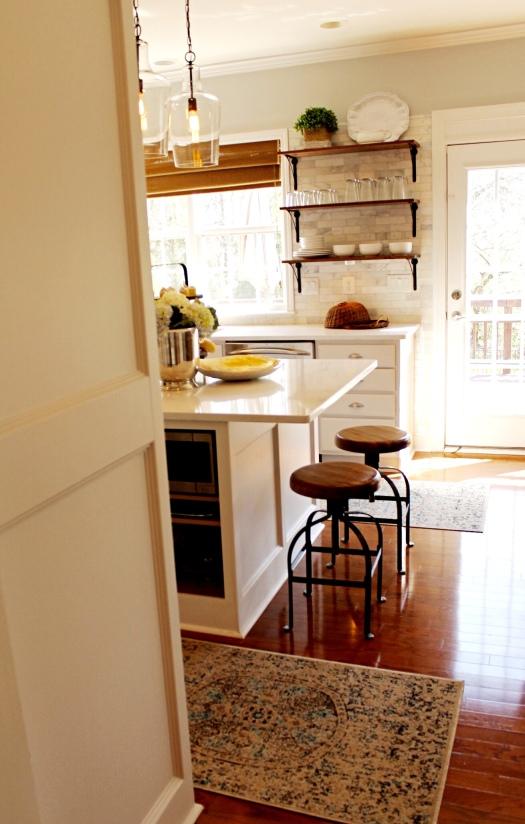 Backdoor Kitchen View