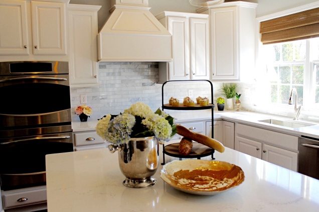 Bright and White Kitchen