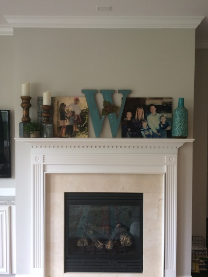 Mantel Before