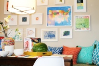 Breakfast Nook filled with Color
