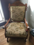 Before - Antique Rocker