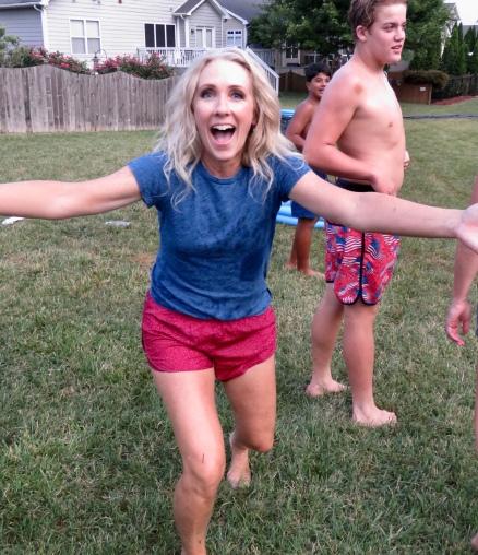 Annual Slip n Slide Kickball Party