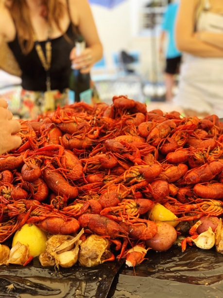 Can you say Crawfish?!