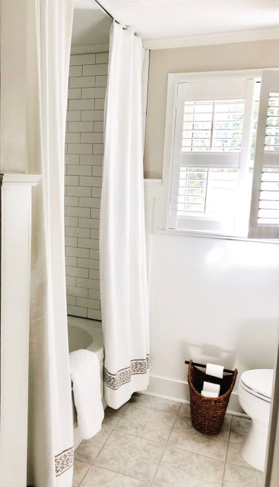Beautifully Classic White Bathroom Renovation