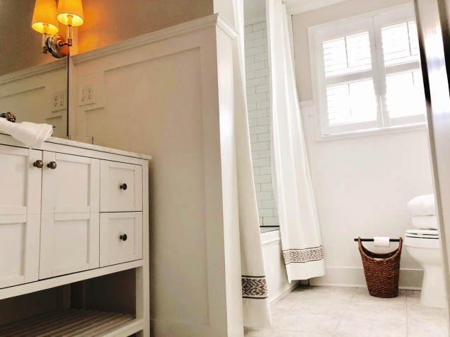 Classic White Bathroom Renovation