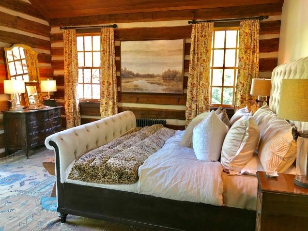 Westview Cabin Master Suite